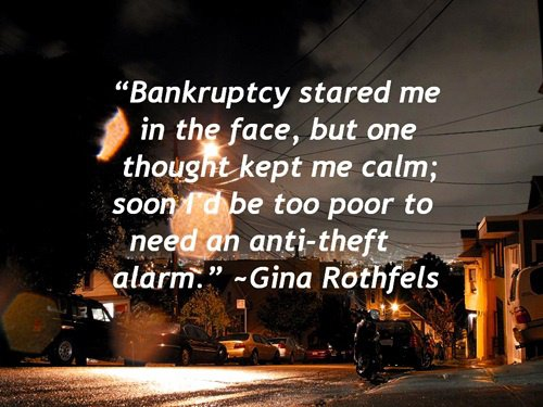 Bankruptcy and Me