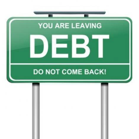 Be free from debt by being financially free.