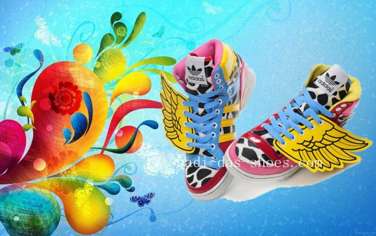 Adidas Originals by Jeremy Scott x 2NE1 JS Wings for hot