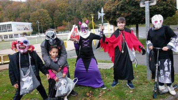 le 31 octobre journee avec les monstre