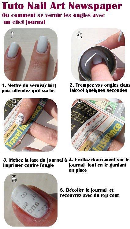 Manucure newspaper