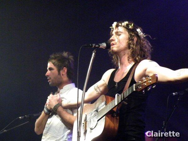 X - Concert au Casino Barrière - Lille - 08/11/12 - X