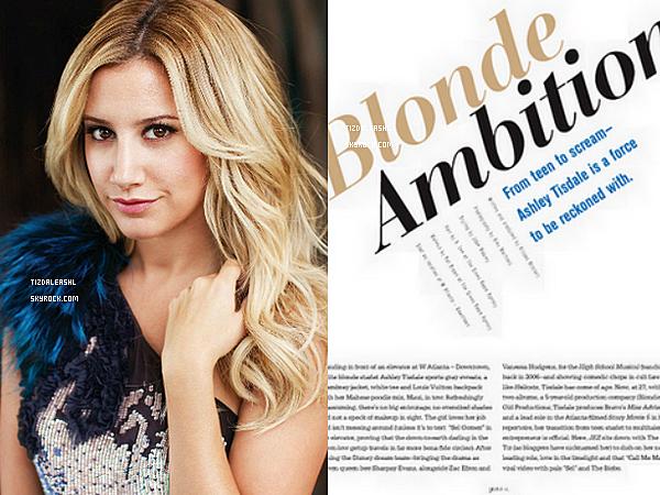 Ashley plus magnifique que jamais fera la Couverture  du Magazine Jezebel du mois de Novembre.