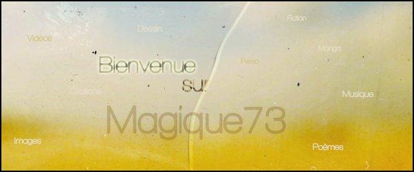 Biєnvєnuє suя Mαgiquє73'