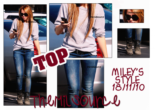 _ Miley au Panera Bread ( restaurant ) .