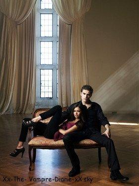 Nina Dobrev et Paul Wesley