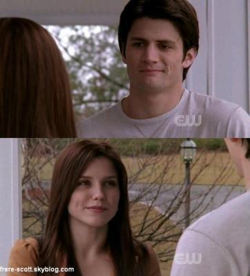 Qu'est ce qui se passe Brooke? Tu t'es engueulé avec Lucas?