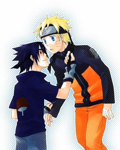 Naruto et Sasuke