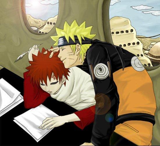 Naruto et Gaara 2