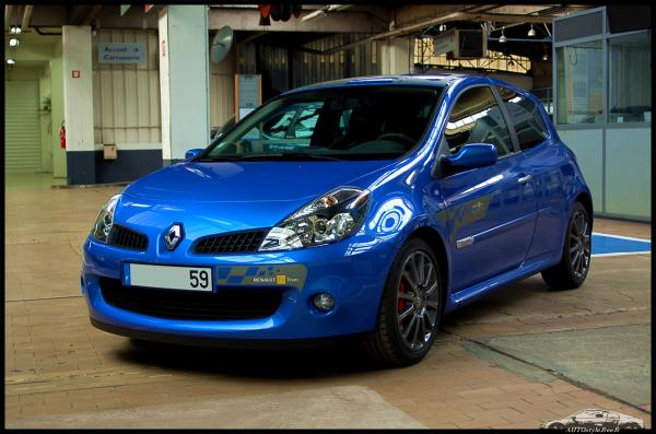 Renault Clio Iii Rs Sport Vivez Ma Passion