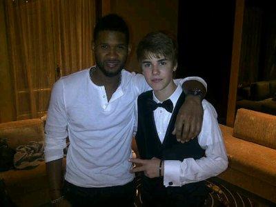JUSTIN BIEBER<3 Et Usher