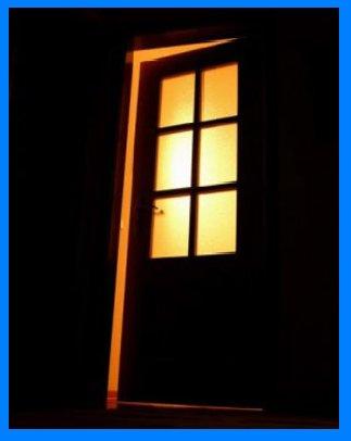 Porta Larga X Porta estreita