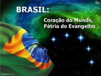 """""""Brasil, a """"Pátria do Evangelho"""" - Porque ainda existe pessoas que não amam o próximo?"""