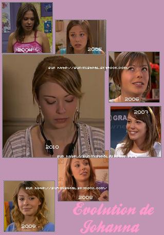 Evolution de Johanna