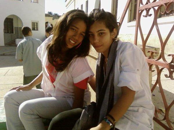 me and my freind zinouba