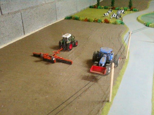 La préparation des sols et le semis de mais