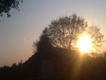 coucher de soleiil ° (prise par moii )