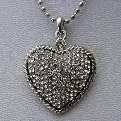http://www.bijouxfous.com/(Collier coeur argenté)