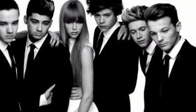 Les One Direction en .... Noir et blanc ! ;)