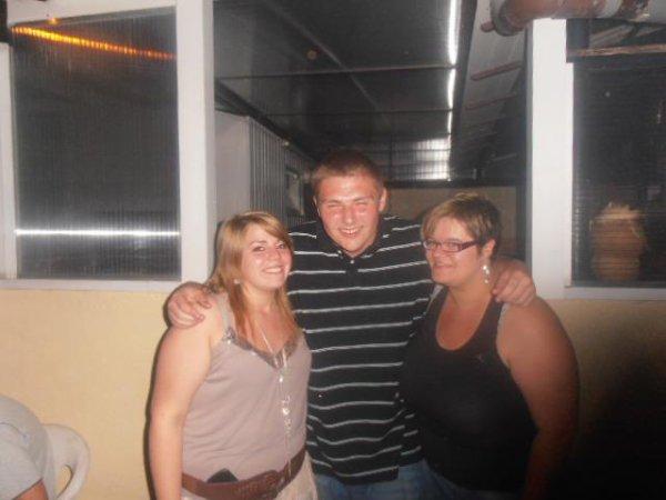 blondine,moi et une cousine