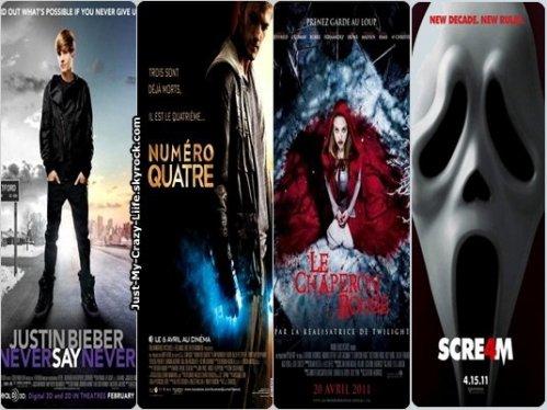 Les derniers films vus au cinéma :