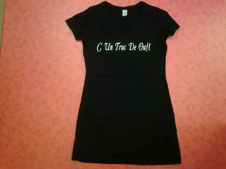 robe T.shirt, fille taille M
