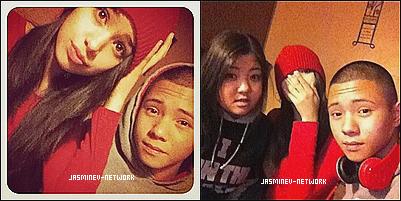 """27 Décembre : Jasmine à postée sur son compte Twitter  """" Jasminators Contest""""  Des photos de Jasmine lors de sa video à Mun2tv sont apparues."""
