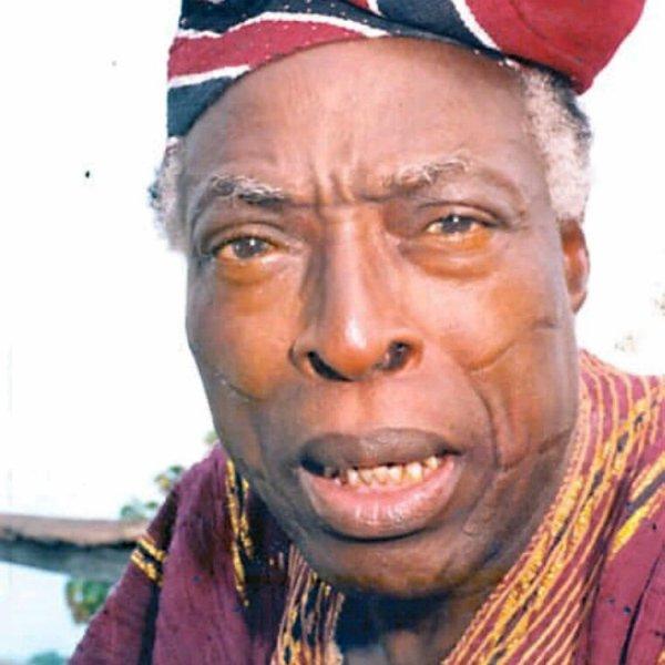 Breaking! Renown Poet, Actor And Yoruba Translator, Alàgbà Adebayo Faleti Is Dead