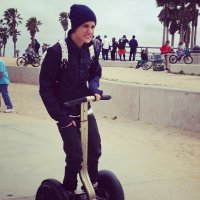 Justin se promène à Venice Beach ♥