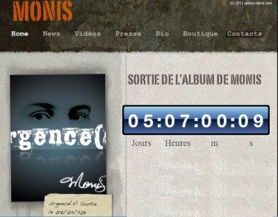 Urgence(s) l'album de Monis - sortie le 7 février 2011