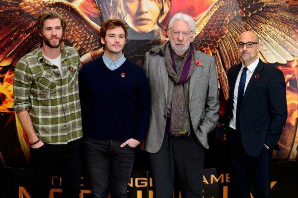 La Révolte Partie 1 : Photos des acteurs au photocall à Londres