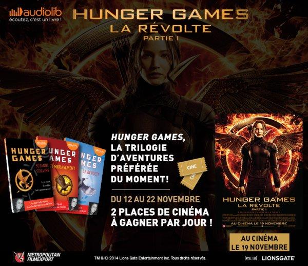 Hunger Games : La Révolte Partie 1 sort aujourd'hui !