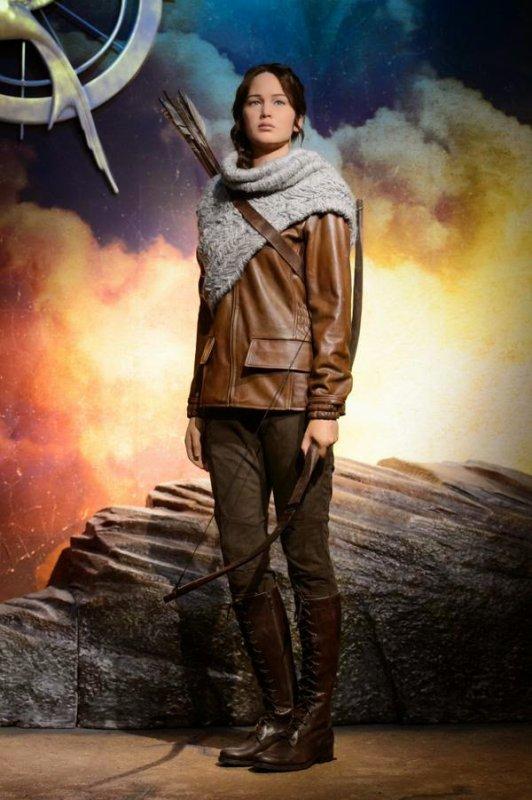 Katniss au musée Madame Tussauds de Londres !