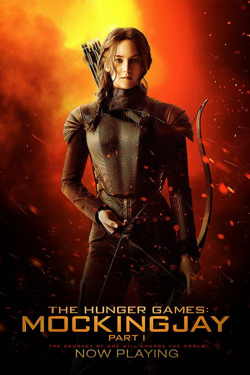 La Révolte Partie 1 : Nouveau poster de Katniss