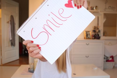 I can always make you smile !