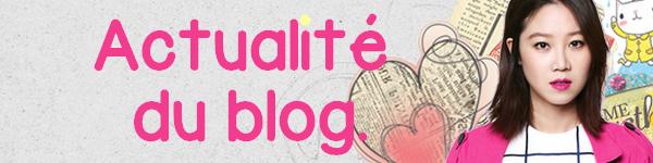 Actualité du Blog.