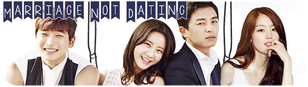 Marriage Not Dating.