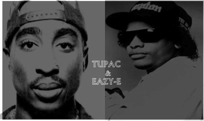2pac and Eazy-E