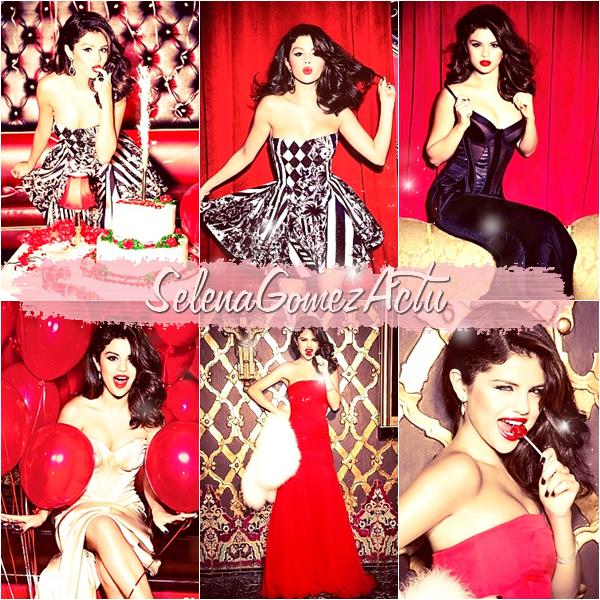 ■/Flashback/Selena fait un photoshoot pour « Glamour » de décembre élisant les femmes de l'année.