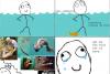 À chaque fois que je me baigne dans un lac!!