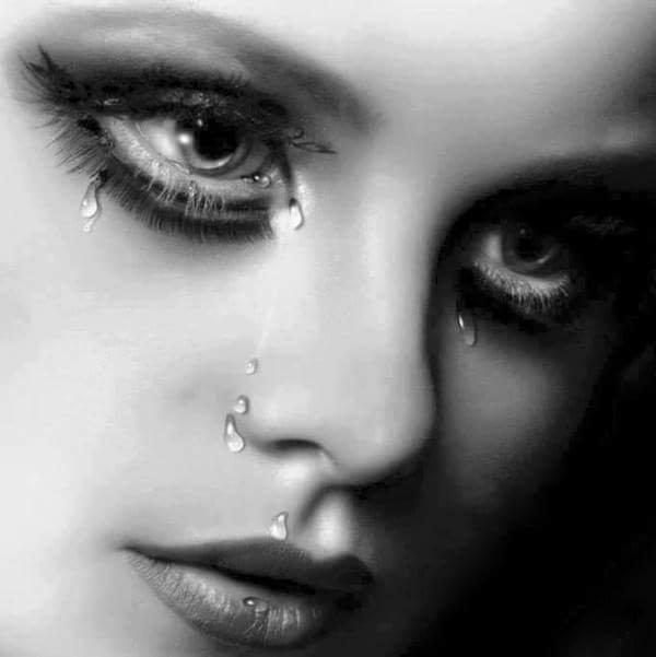 je pleure ton absence