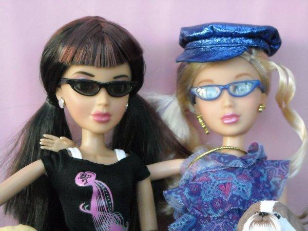 Daniela et Sophie, poupées LIV