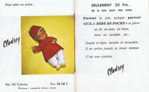 Catalogue Mick, suite et fin.