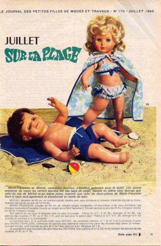 Modes et Travaux, juillet 68