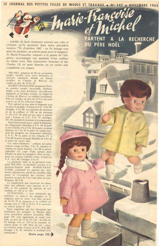 Modes et Travaux, novembre 1965