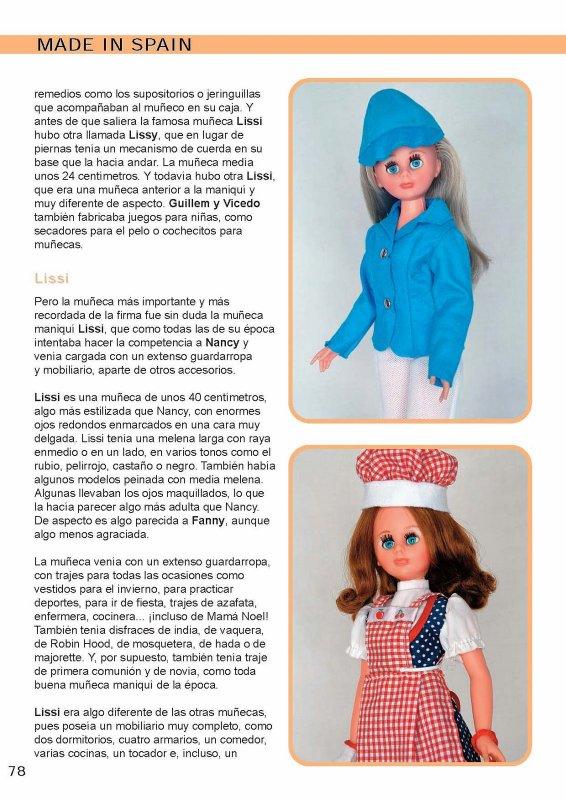 Lissi, poupée Guillem y Vicedo