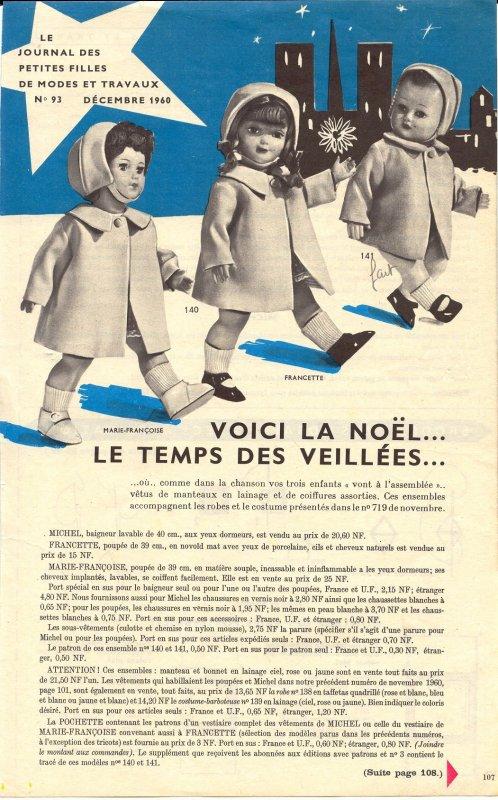Modes et Travaux, Décembre 1960