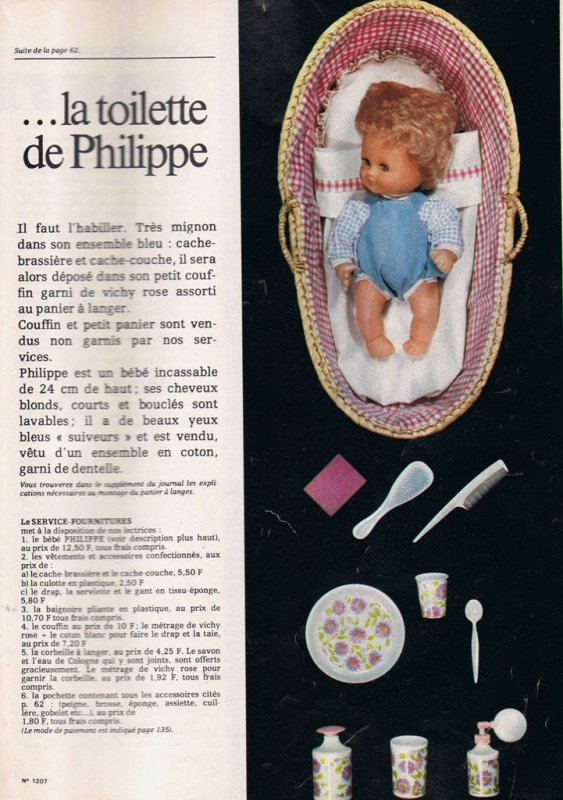 "Philippe  de ""Femmes d'aujourd'hui"""