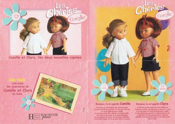 """Calendrier """"Les Cheries"""" de 2001"""