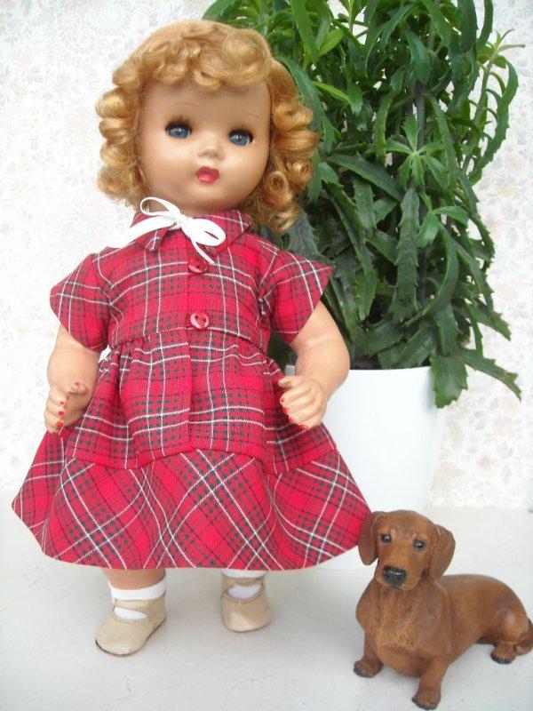 La nouvelle robe d'Annie
